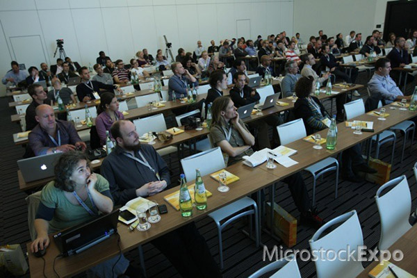 Audience watching the action at Microstock Expo 2011
