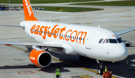 easyJet.com plane