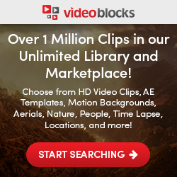 VideoBlocks - Over 1 Million Clips in our Unlimited Library and Marketplace