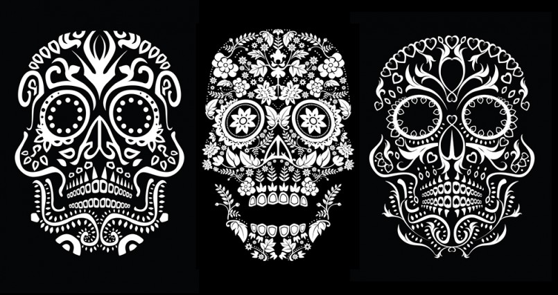Matthew Britton - Day of the Dead Skulls