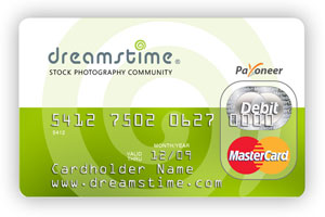 Dreamstime Payoneer Debit Card