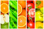 Stock photo fruit and vegetables