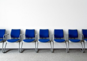 stock photo of an empty waiting room
