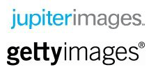 Getty Images and Jupiter Images logos