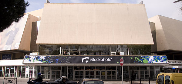 iStockphoto at the Palais des Festivals