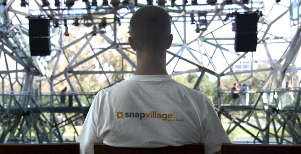 SnapVillage t-shirt