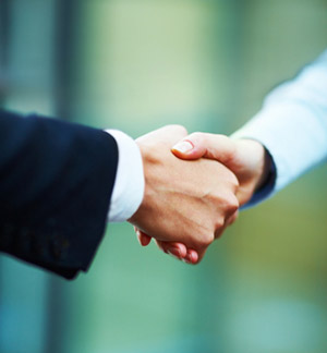 Handshake stock photo - Joshua Hodge