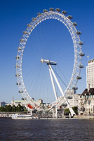 London Eye Stock Photo - Editorial License