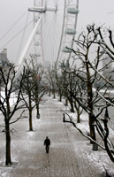 Snowy Day in London, Cesar Soriano