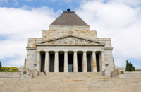 Shrine of Remembrance in Melbourne, Daniel Gustavsson