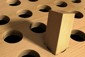 Square Peg in a Round Hole, Mark Evans