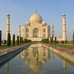 Taj Mahal Stock Photo, Holger Mette